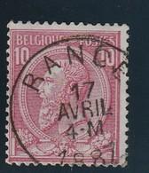 COB N° 46 Oblitération RANCE - 1884-1891 Leopold II
