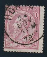 COB N° 46 Oblitération HORNU - 1884-1891 Leopold II