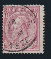 COB N° 46 Oblitération LA HESTRE - 1884-1891 Leopold II