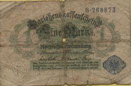 1914 Germany 1 Mark P#52 - [ 2] 1871-1918 : German Empire