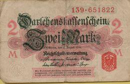 1914 Germany 2 Marks P#53 - [ 2] 1871-1918 : German Empire