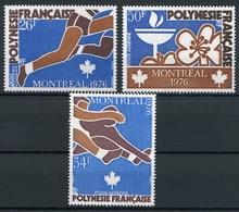 Franz. Polynesien MiNr. 219-21 Postfrisch MNH Olympiade 1976 (Q10477 - Verlage