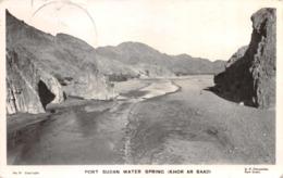 R269665 No. 21. Port Sudan Water Spring. Khor Ar Baad. D. P. Chryssides. 1954 - Ansichtskarten