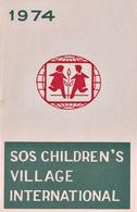 SOS Children's Village Folder FDC NEPAL 1974 MINT - Zonder Classificatie