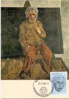 HELVETIA  SWISS LURERN HANS ERNI ALBERT EINSTEIN MAXIMUM   POST CARD  (GENN201542) - Arte