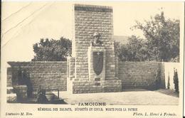 Jamoigne - Mémorial Des Soldats, Déportés Et Civils, Morts Pour La Patrie - Carte Phot - Chiny