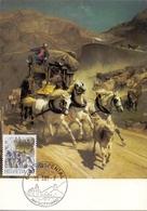 HELVETIA  SWISS HOSPENTAL  AM GOTTHARD RUDOLF KOLLER  MAXIMUM POST CARD  (GENN201548) - Arte