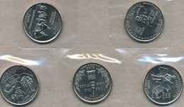 USA, 2000 State & Territory Quarters Yearset - Federal Issues