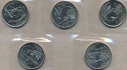 USA, 2002 State & Territory Quarters Yearset - Federal Issues