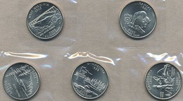 USA, 2005 State & Territory Quarters Yearset - Federal Issues