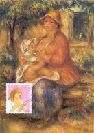 HELVETIA  SWISS BERN FRITZ UHDE  MAXIMUM POST CARD  (GENN201556) - Arte