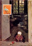 HELVETIA  SWISS BERN MAX LIEBERMANN  MAXIMUM POST CARD  (GENN201557) - Arte