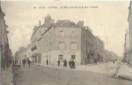 8908 CPA Laval - La Rue Joinville Et La Rue D'Ernée - Laval