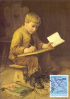 HELVETIA  SWISS  BERN  ANKER PINTURE  POST CARD  (GENN201564) - Arte