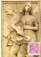 HELVETIA  SWISS  BERN  AGOSTINO DI DUCCIO  DIE MEISTER   POST CARD  (GENN201566) - Arte