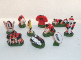 FEVE VIVE LE RUGBY, EQUIPE ROUGE, SERIE DE 10 - Sports
