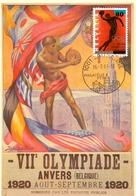 HELVETIA MAXIMUM OLYMPIADE ANVERS BELGIQUE 1920  POST CARD  (GENN201570) - Summer 1920: Antwerp