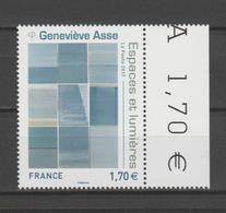 """FRANCE / 2017 / Y&T N° 5189 ** : """"Espaces & Lumières"""" (Geneviève Asse) X 1 BdF G - Frankreich"""