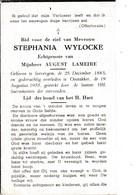 Zevergem, Oostakker, 1955, Stephanie Wylocke, Lameire - Images Religieuses