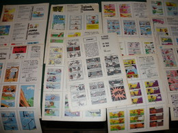 MINI - BIBLIOTHEQUE  SPIROU : 1 LOT DE 18 MINI RECITS - Spirou Magazine