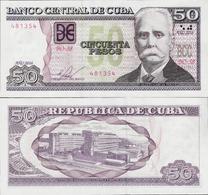 Cuba 2016 - 50 Pesos - Pick 123k UNC - Cuba