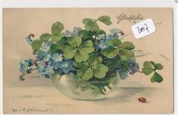 CPA-20047 -Illustrateurs - Motif Floral Par  Catharina Klein- Envoi Gratuit - Klein, Catharina