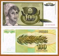 IUGOSLAVIA - 100 DINARA – 1991 – UNC - Joegoslavië