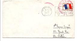CACHET COMPAGNIE DE SECTEUR N°173 BASTIA 1971 - Military Service Stampless