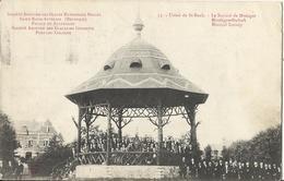 S.A. Des Glaces Saint Roch à AUVELAIS - Usine De Saint-Roch - La Société De Musique - Kiosque 1919 - Sambreville