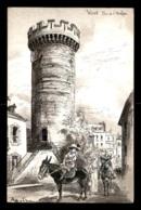 03 - VICHY - LA TOUR DE L'HORLOGE - ILLUSTRATEUR ROBIDA - Vichy