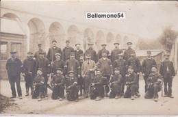 Carte Photo Dept 77 - Longueville - Groupe De Militaire Section C Groupe 2 Poste 1 Longueville (voir Scan Recto-verso) - Sens