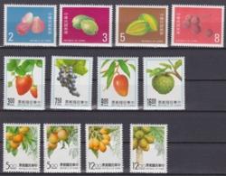 """TAIWAN 1985, 1991, 1993, """"Fruits"""", 3 Series Unmounted Mint - 1945-... République De Chine"""