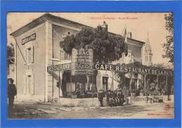 07 ARDECHE - CORNAS Route Nationale, Café Restaurant De La Paix - Francia