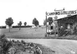 CHONAS-l'AMBALLAN - Entrée Du Camping Les Tilleuls - Tirage D'éditeur N&B Non Dentelé - Autres Communes