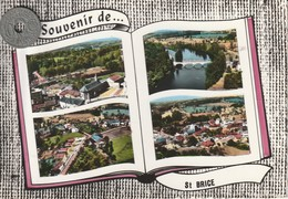 87 - Carte Postale Semi Moderne Dentelée  De     SOUVENIR DE SAINT BRICE  Multi Vues - France