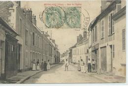 Remalard-Rue De L'Eglise - Remalard