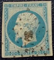 578- 14 A - Des Bureaux Supplémentaires PC 3708 Les Dardanelles Turquie - 1853-1860 Napoleon III