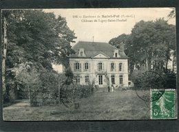 CPA - Environs De ST POL - Château De LIGNY SAINT FLOCHEL, Animé - France