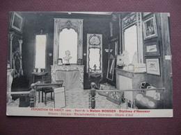 CPA 54 Exposition De NANCY 1909 Stand Maison MOSSER 43 Rue Saint Dizier METIERS MIROITERIE GLACES  GRAVURES OBJETS D'ART - Nancy