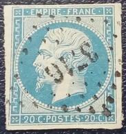 581 - 14 B - Des Bureaux Supplémentaires PC 3716 Bone Constantine - 1853-1860 Napoléon III.