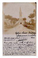 Lesparre.  Eglise Sainte Trelody. Carte Photo 1903. - Lesparre Medoc