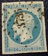 584 - 14 A - Des Bureaux Supplémentaires PC 3736 Sidi Bel Abbes Oran - 1853-1860 Napoléon III.