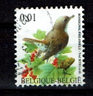 0,01€ Nachtegaal Buzin Uit 2004 (OBP 3264 ) - Belgien