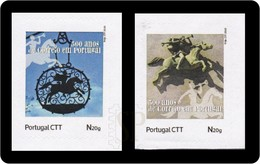 Portugal 2020 Selos Personalizados 500 Anos Do Correio Post Services Posta Poste Courrier Mon Timbre My Stamp - Correo Postal