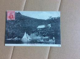 Carte Postale Affranchie : Trinidad  & Tobago (1917) (avec Correspondance) - Trinidad