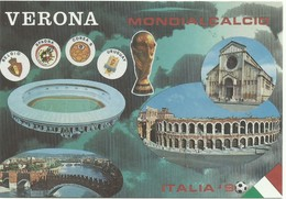 Italia 90 Stade De Verone,stadion Stadium Estadio Stadion Mondialcalcio - Voetbal