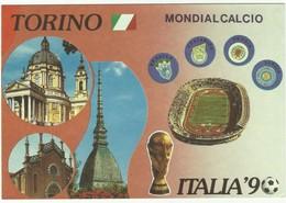 Italia 90 Stade De Turin,stadion Stadium Estadio Stadion Mondialcalcio - Voetbal