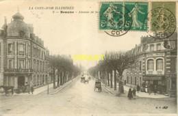 21 Beaune, Avenue De La Gare, Hotel De France, Attelages... - Beaune
