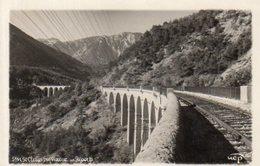 Dept 38,Isère,Cpsm Clelles,Viaduc Des Risverts - Clelles