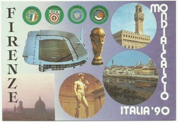 Italia 90 Stade De Florence,stadion Stadium Estadio Stadion Mondialcalcio - Fussball